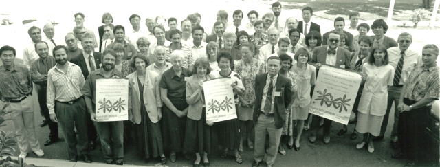 Participants at Seventh Meeting of the International Network on Health Expectancy (REVES), Canberra, 21-22 February 1994