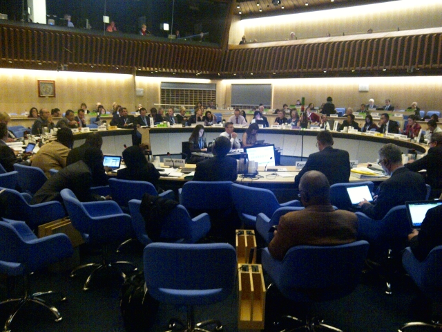 Consultation with Member States on global targets for non-communicable diseases, WHO Executive Board Room, Nov 2012