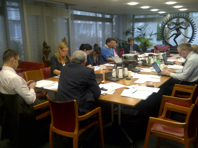 Informal consultation with experts on setting global targets for non-communicable diseases, India Room, WHO Headquarters, December 2011